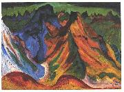 Ernst Ludwig Kirchner The mountain oil painting reproduction