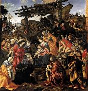 Filippino Lippi Adoration of the Magi oil painting reproduction