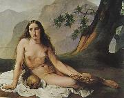 Francesco Hayez Bubende Maria Magdalena oil painting reproduction