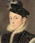 Portrait of King Charles IX of France, Francois Clouet