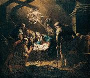 Gaspare Diziani The Adoration of the Shepherds oil painting artist