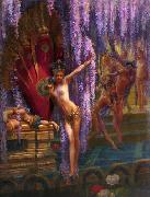 Gaston Saintpierre Exotic Dancers oil painting reproduction
