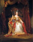Coronation portrait of Queen Victoria