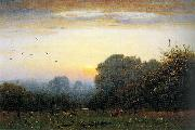 George Inness Morning oil painting reproduction