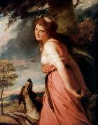 George Romney Lady Hamilton as a Bacchante. oil painting reproduction