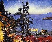 Evening Blue, George Wesley Bellows