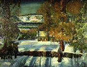 Strabe im Winter, George Wesley Bellows
