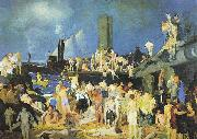 Riverfront No. 1, George Wesley Bellows