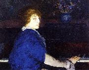 Emma at the Piano, George Wesley Bellows