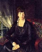 Emma at the Window, George Wesley Bellows