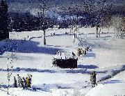 Blue Snow the Battery, George Wesley Bellows