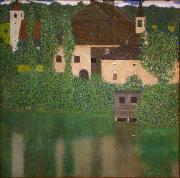 Gustav Klimt Castle with a Moat oil painting reproduction