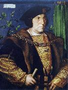 Portrait of Sir Thomas Guildford, Hans holbein the younger