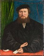 Portrait of Derich Berck, Hans holbein the younger