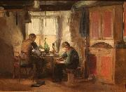 Harriet Backer Bygdeskomakere oil painting reproduction