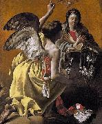 Hendrick ter Brugghen The Annunciation oil painting reproduction