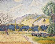 Henri Edmond Cross Landscape oil painting reproduction