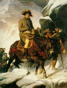 Hippolyte Delaroche Bonaparte Crossing the Alps oil painting artist