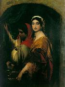 Hippolyte Delaroche Herodias, 1843, Wallraf-Richartz-Museum, Cologne, Germany. oil painting artist