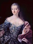 Ivan Argunov Portrait of Princess Ekaterina Alexandrovna Lobanova-Rostovskaya, 1754 oil painting on canvas