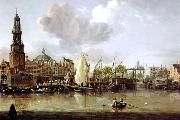 Jacobus Storck Haringpakkerstoren oil painting on canvas