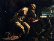 Jacopo Bassano St Jerome oil painting reproduction