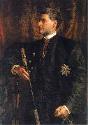 Portrait of Alfred Potocki, Jan Matejko