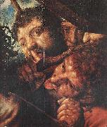 Jan Sanders van Hemessen Christ Carrying the Cross oil painting reproduction