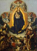 Jan provoost The Coronation of the Virgin oil painting reproduction