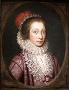 Janssens van Ceulen Portrait of a Woman oil painting reproduction