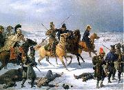French retreat from Moscow in 1812