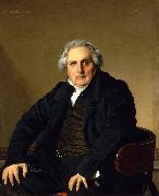 Portrait of Monsieur Bertin, Jean Auguste Dominique Ingres