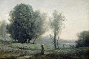 Jean-Baptiste Camille Corot Landscape oil painting reproduction