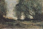 Jean-Baptiste-Camille Corot Landscape oil painting reproduction