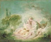 Jean-Honore Fragonard Jupiter and Callisto oil painting reproduction
