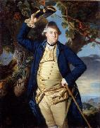 Johann Zoffany George Nassau 3rd Earl Cowper oil painting on canvas