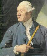 Johann Zoffany The Oboe Player oil painting reproduction