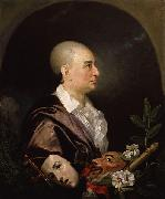 Johann Zoffany David Garrick oil painting reproduction