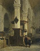 Church Interior, Johannes Bosboom