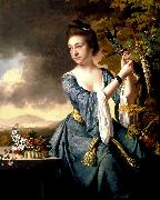 Elizabeth Mrs John Bostock, Joseph wright of derby