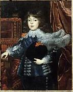 Portrait of Ferdinando de'Medici as Grand Prince of Tuscany (1610-1670) as a child (future Grand Duke of Tuscany), Justus Sustermans