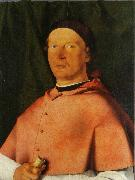 Portrait of Bishop Bernardo de Rossi, Lorenzo Lotto