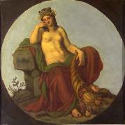 Lotz, Karoly Allegory of Earth oil painting