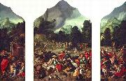 Triptych with the Adoration of the Golden Calf