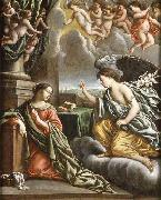 Mathieu le Nain The annunciation oil painting reproduction
