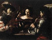 Mattia Preti Concert oil painting reproduction
