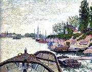 Paul Signac Avant Du Tub oil painting reproduction