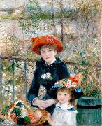 On the Terrasse, Pierre Auguste Renoir