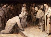 Christ and the Woman Taken in Adultery, Pieter Bruegel the Elder