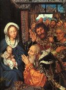 Quentin Matsys The Adoration of the Magi oil painting reproduction